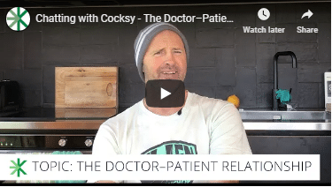Cocksy on the doctor-patient relationship
